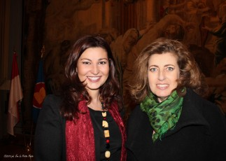 Con Patrizia Fabbri, Antica Cappelleria