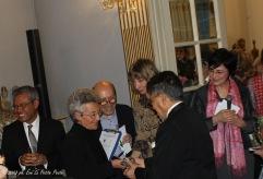 Adriana Mulassano omaggiata dall'Ambasciatore