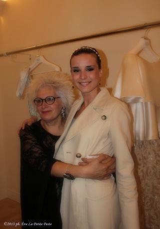 Paola Romano con Elisa Silvestrin
