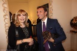 La giornalista Didi Leoni con Emilio Sturla Furnò
