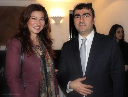 CriCri con l'Ambasciatore della Repubblica dell'Iraq S.E. Saywan Barzani