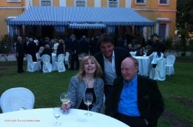 Didi, Christopher Miles, Saverio Vallone a Villa Vitetti