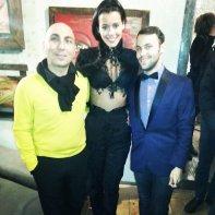 Fabiola Speziale con Michele Bono e Claudio Palillo