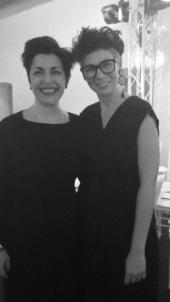 Patrizia Vacalebri con Sonia Rondini