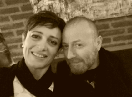 Angelina col couturier Nino Lettieri