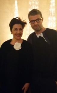 Patrizia Vacalebri con Vittorio Camaiani